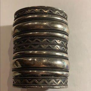Jewelry - Hammered metal cuff bracelet